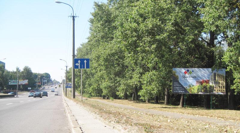 17 Рівне, Київська, поруч з АЗС ОККО