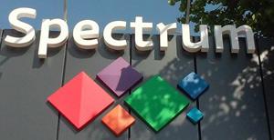 Вивіска ЖК Спектрум в м.Рівне