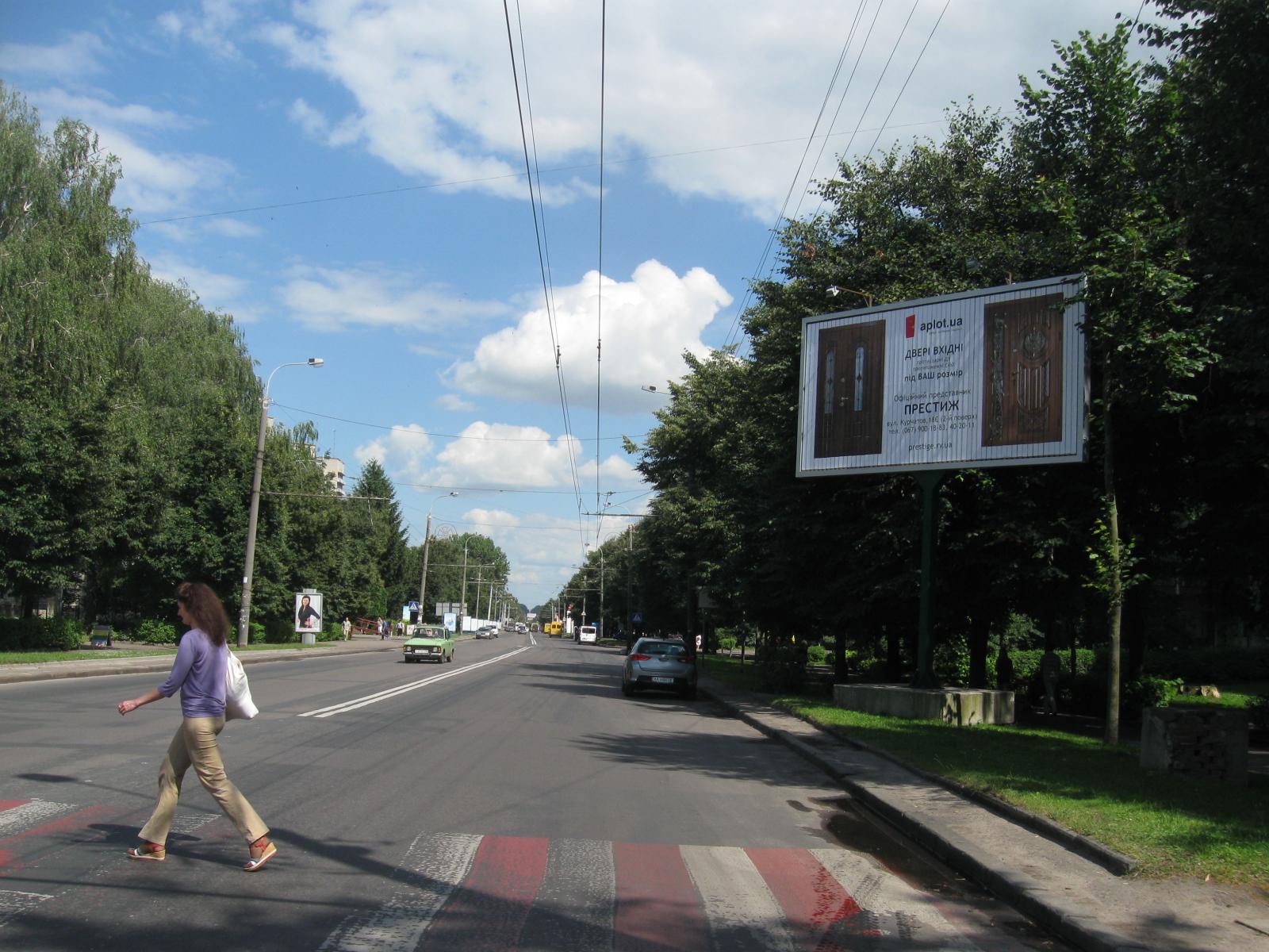 Білборд Призма в м.Рівне, вул.Соборна, 4а