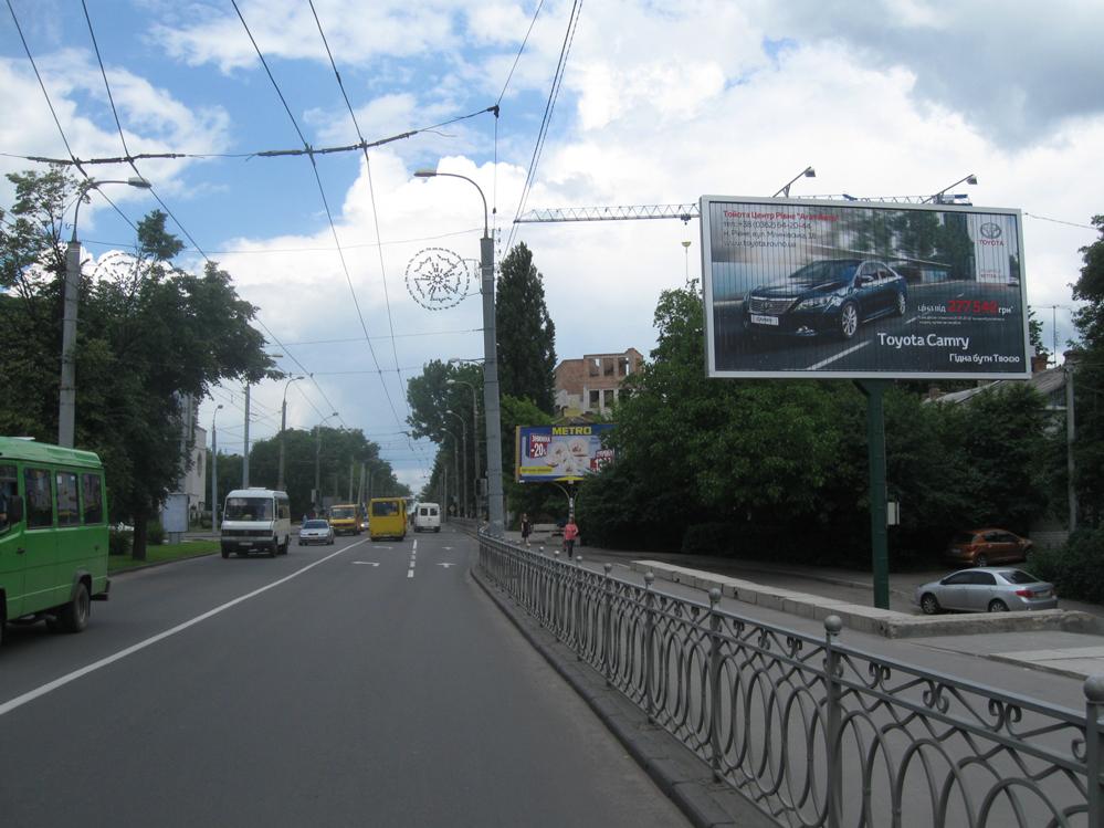 Білборд по вул.Соборна, сторона А