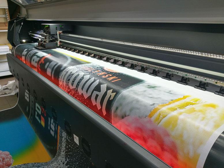 Друк меш-сітки на широкоформатному принтерів в м.Рівне