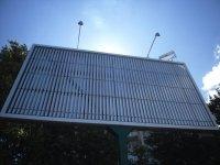 Дошка реклами запустила «призму» з живленням від сонячної батареї